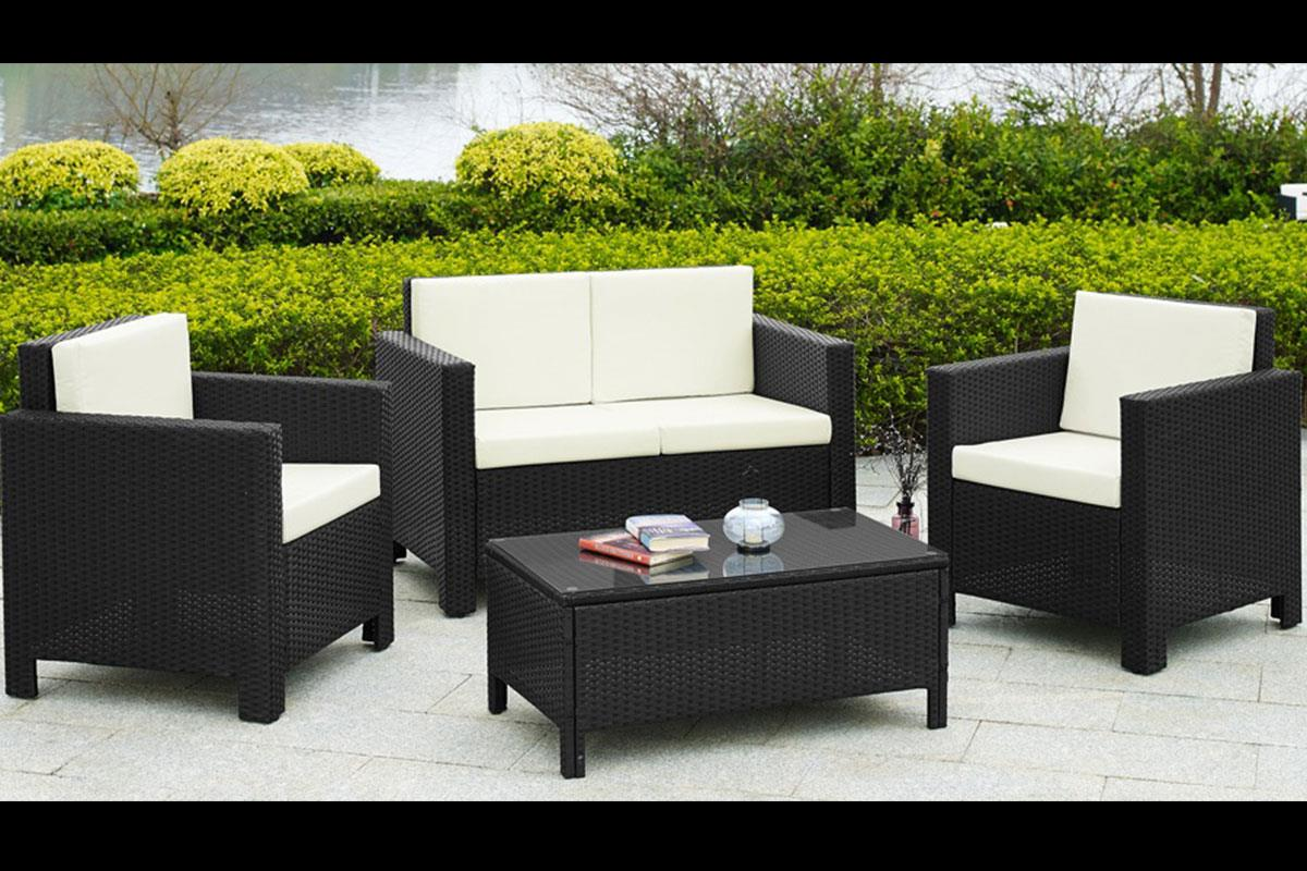 balkon set best lounge set balkon lounge set jazz deluxe. Black Bedroom Furniture Sets. Home Design Ideas